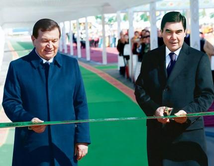 shavkat mirziyoyev gurbanguli berdimuhamedov ile ilgili görsel sonucu
